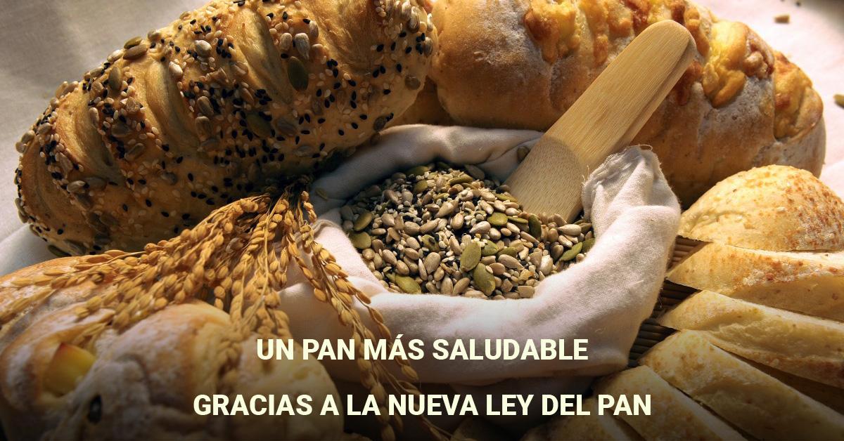 Un pan más saludable